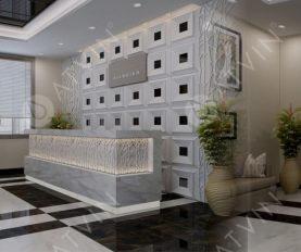 E – Office: Giải pháp thiết kế thang máy văn phòng