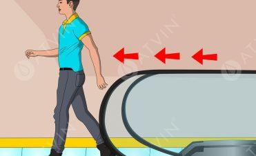 [Infographic] Hướng dẫn sử dụng cầu thang cuốn đúng cách