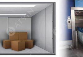 Kích thước tiêu chuẩn của thang máy tải hàng là bao nhiêu?