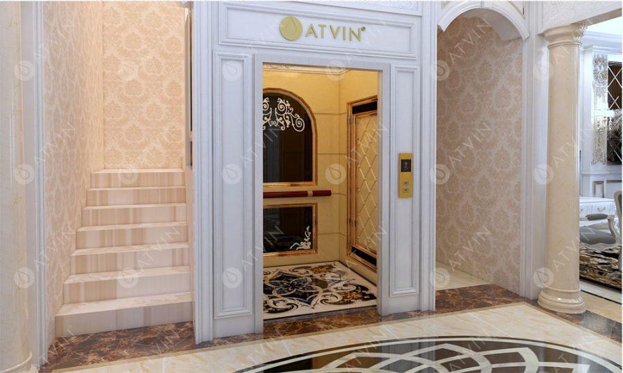 9 mẫu cabin thang máy gia đình Atvin mê hoặc lòng người