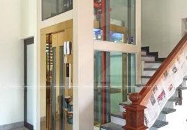 Lắp thang máy gia đình 350Kg siêu đẹp