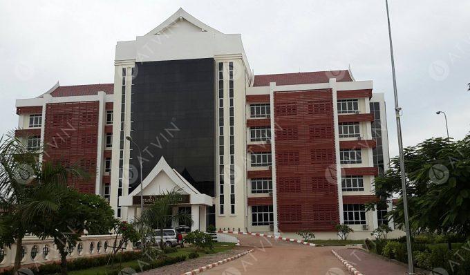 Tòa Nhà Bộ Ngoại Giao Tỉnh Attapeu CHDCND Lào